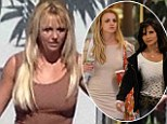 Britney Spears keeps busy with X Factor... as her mother tells court she was terrified Sam Lufti gave her daughter 'crushed pills'