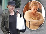 Nicole Kidman keeps it casual in skinny jeans and cap on a break from filming Grace Kelly biopic