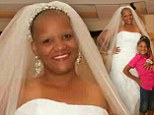 Cancer-surviving mother who wed in borrowed prom dress 25 years ago FINALLY wears bridal gown of her dreams to renew vows
