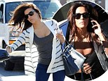 Washing that man right out of her hair! Eva Longoria puts love split behind her by attending business meeting