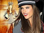 She's in command! Alessandra Ambrosio steps out in saucy General costume as she attends Halloween party