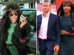 Naomi Campbell has calmed her temper since meeting her Russian billionaire