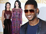Putting everyone else in the shade! Usher leads stars at Pencils of Promise gala