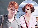 Not so Pretty In Grey: Bratpack beauty Molly Ringwald wears drab ensemble for LA work-out