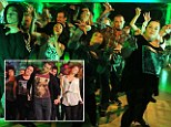 A Thriller of a night: Strictly Come Dancing cast prepare for Halloween special