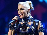 Hands-on mother: No Doubt singer Gwen Stefani onstage during the iHeartRadio Music Festival in Las Vegas, Nevada, in September