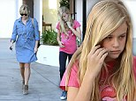 Reese Witherspoon bonds with mini-me daughter Ava... before making her first appearance since son's birth at VIP launch