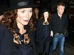 Blusher overload! Anna Friel suffers make-up mishap as she steps out with partner Rhys Ifans