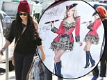 Shiver me timbers! Vanessa Hudgens picks up sexy pirate costume at 'Trashy Lingerie' store