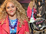Stylish bag: AnnaSophia Robb's Carrie shoulder bag was the perfect outfit accessory as she filmed scenes for The Carrie Diaries in NYC on Friday