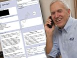 Richard Herman invoiced a 'cold caller' for his time and they paid up