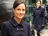 Pippa Middleton in Canary Wharf