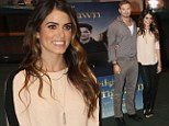 A fangtastic affair: Nikki Reed and Kellan Lutz cuddle up at Twilight fan event in Dublin... but where's Rob and Kristen?
