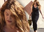 Dancing her way to MORE weight loss: Kirstie Alley continues to shed the pounds as she battles through gruelling DWTS practice schedule