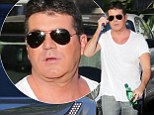 Simon Cowell was spotted in LA at the weekend ahead of the start of the American X Factor looking somewhat heavier than usual