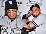 Jersey snore! Pauly D hosts Las Vegas Halloween bash in half hearted baseball player costume... and uses a vodka bottle as a bat