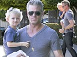 McSteamy on daddy duty: Eric Bane takes daughter Billie out for weekend toy shopping