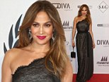 Where's Casper? Jennifer Lopez goes solo at charity gala after gushing messages with toyboy to mark their one-year anniversary