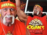 Trying to put his troubles behind him: Hulk Hogan opens new beach store in the wake of sex tape scandal