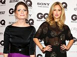 Bringing the glitz and the glamour: Bar Refaeli and Mischa Barton wow at the GQ Man of the Year Awards in Berlin