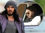 Russell Brand 'sued by pedestrian who claims actor drove into him'