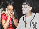 Is it on or off? Chris Brown parties at same Halloween bash as 'ex' Karrueche Tran
