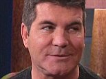 Too much filler: Simon Cowell showed off a much fuller face as he appeared on The Tonight Show with Jay Leno, on Monday night