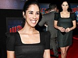Game face on! Sarah Silverman brushes off claim she lacks 'basic desire' with a grin and an LBD at premiere of her new film