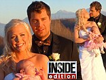 Levi Johnston and Sunny Oglesby wedding pictures