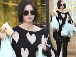 Jack Osbourne's wife Lisa Stelly wears her heart on her sleeve as she goes grocery shopping in printed top
