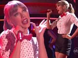 Taylor Swift shows Connor what he's missing as she takes to the stage in sexy attire on Dancing With The Stars
