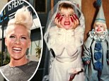 Too ghoul for school! Pink shares Halloween snaps from her childhood