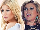 Photoshopped? An elfin faced American Idol Kelly Clarkson on the cover of her single Don't Rush from her soon-to-be-released Greatest Hits - Chapter 1 album