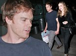 Fueling her passions: Michael C. Hall visits bookstore with his novelist girlfriend Morgan Macgregor