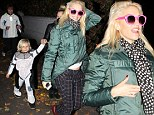 Halloween across the Atlantic: Gwen took Zuma trick-or-treating in London with some friends