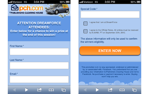 Winning To-Go: Using Mobile Sweepstakes and Contests