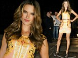 Alessandra Ambrosio at Sao Paulo Fashion Week in Brazil