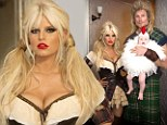 'Happy Halloween!': Slimmed-down Jessica Simpson tweeted this picture of her family on Wednesday
