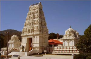 Exotic Hindu Temple On Malibu Beach