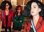 Katy Perry dresses as Jane Lane while her friend Shannon Woodward channels Daria