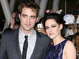 Before the split: Robert Pattinson and Kristen Stewart at the premiere of The Twilight Saga: Breaking Dawn Part 1 last year