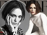 'I am duplicitous and manipulative': Keira Knightley admits she is just like her character Anna Karenina as she poses in edgy photo shoot