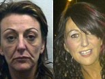 Prolific: Jeanette Fidler in a police photo from 2002 (left) and pictured more recently