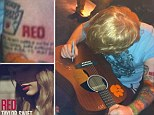 Ed Sheeran gets a tattoo inspired by Taylor Swift's album as rumours swirl they're more than just writing partners
