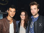 Friends reunited: Robert Pattinson and Kristen Stewart will make their first TV appearance together since her affair with Rupert Sanders was revealed