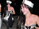 vril dresses as sexy sailor while fiance Chad Kroeger spills the beans on sex life