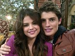 What would Justin say? Selena Gomez cuddles up to her hunky Wizard of Waverly Place co-star as pair film reunion movie