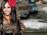 Snooki over the devastation in New Jersey