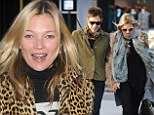 'I liked the look of him': Kate Moss revealed she found her rocker husband Jamie Hince on the internet