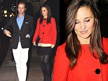 Kate Middleton and friend Tom Kingston out at Loulou's nightclub